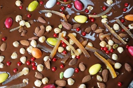 Orange confite et chocolat - Chocolats Puyodebat